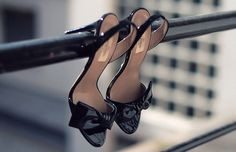 I could take one similar, but with the shoes hanging from a tree branch instead.