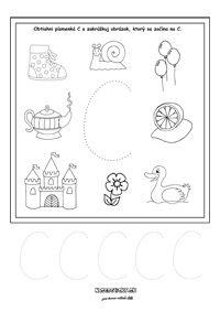 Písmenká - séria pracovných listov - Nasedeticky.sk Montessori, Education, Alphabet, Onderwijs, Learning