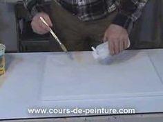 Cette méthode très intéressante, permet de donner du volume à la peinture et jouer sur la troisième dimension.