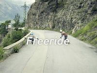 """Greener Pastures // Part 3 - Freeride // The Swiss Alps are incredibly beautiful and unique; the novel landscape is perfect for setting this film series apart. The name """"Greener Pastures"""" derives from the geography and provides a more calm and mature aesthetic than what is seen in most skateboard media. The purpose of """"Greener Pastures"""" is to expose some of the best skating with some of the best riders on earth in a high quality production."""