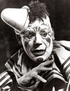 The silent clown