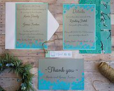 DIY свадебные приглашения и благодарственные письма Идеи
