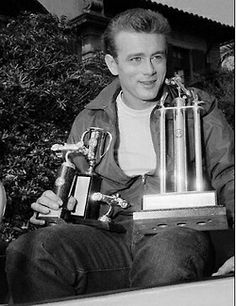 James Dean Racing Trophies