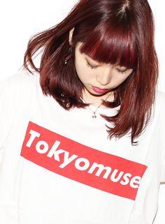 ファストブリーチ+ローズベリー 【suburbia】 http://www.beauty-navi.com/salon/22297?pint ≪ #red #pink #hairstyle・ヘアスタイル・髪形・髪型・赤・ピンク・レッド≫