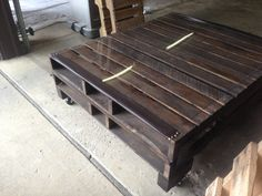 Coffee table!! My pallet project :)