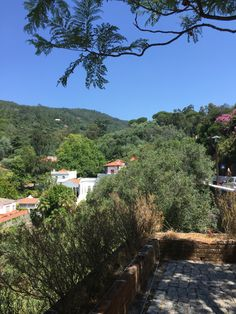 Beautiful Caldas de Monchique, Portugal. It's like time stood still in this tiny spa village, perched up in the mountains of Monchique in the Algarve.