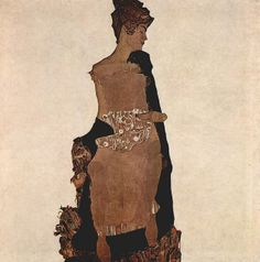 Egon Schiele Portrait of Gerti Schiele