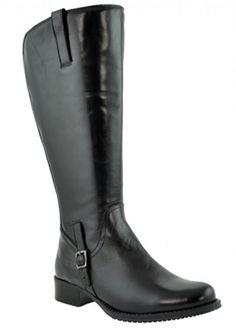 Jordana Super Plus Wide Calf�  Boot  (Black)