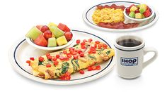SIMPLE and FIT menu at IHOP! Great choices-8 and 9 points per meal
