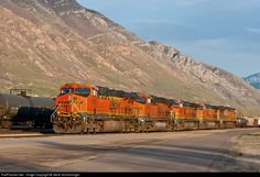RailPictures.Net Photo: BNSF 7429 Burlington Northern Santa Fe GE ES44DC at Provo, Utah by Steve Schmollinger