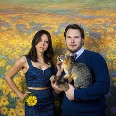 While other couples of NBC's hit series Parks and Recreation have had their ups and downs, there is no wondering about the fate of April Ludgate and Andy Dwyer. Fans of the show have watched the unconventional couple fall in love and be overall… Parks And Recreation, Movies Showing, Movies And Tv Shows, Andy And April, Parks And Recs, Andy Dwyer, Netflix, Safari, Andy Park