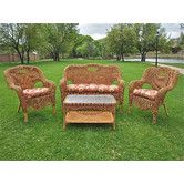 Found it at Wayfair - Dresden 4 Piece Lounge Seating Group1028.06