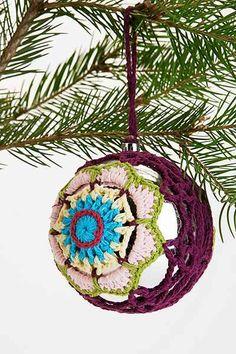 Crochet Ball Ornament - Urban Outfitters