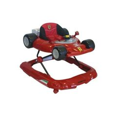 Ferrari F1 Baby Walker.  --Oh, yes I would!