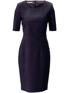 Basler - Figurnahes Etui-Kleid in reiner Schurwolle (Größe 36 - 56)