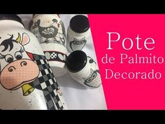 DIY: Como Fazer Pote de Palmito Decorado | GATutoriais Reciclagem - YouTube