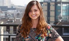 """Jenna Louise Coleman - """"Clara"""" on Doctor Who -- The Lovely Ladies on Pinterest - by Zooey, Chloe, Hayley and Jack"""