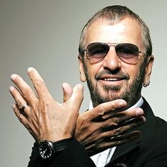 Happy Birthday Ringo! He turns 74 today, he and Paul look good for their age! Keep it up'