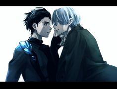 yuri!!! on ice | yoi | viktor nikiforov x katsuki yuuri | viktuuri | victuuri