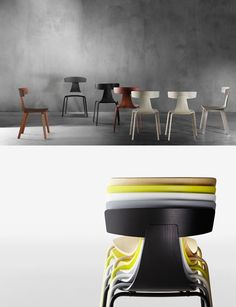 Remo chairs from Konstantin Grcic - Home Decorating Trends - Homedit