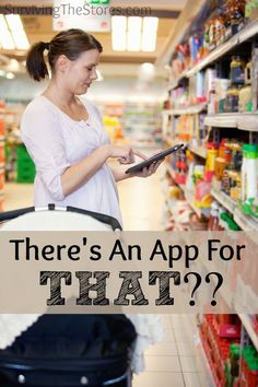 Yes, there is actually an app that will let you see the sales for almost ALL of the stores near you!  It will even show you any coupons that can go with the sale.