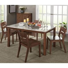 Simple Living Edina Dining Table