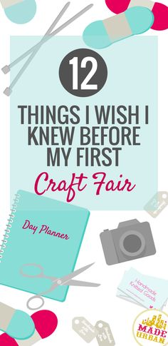 "Although the craft scene was much different when I first started than it is today, the following ""best practices"" still apply. It took me many shows to master my display, sales pitch and products so hopefully this list will help get you to peak performance faster than I did      1) Start prepping now I … Continue reading ""12 Things I Wish I Knew Before my First Craft Fair"""
