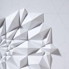 3d paper folding.