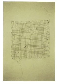 Mona Hatoum, 'Untitled (hair grid with knots 3)'