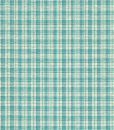 Upholstery Fabric Waverly Poppy Plaid Sugarplum Home Decor