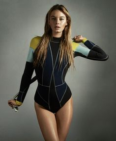 Best Wetsuit Brands For Surfing 2019 visual optimism; fashion editorials, shows, campaigns & more!: camille rowe by charlotte wales for foam magazine july 2012 Sport Style, Aqua Sport, Sport Fashion, High Fashion, Style Sportif, Swimsuits, Bikinis, Swimwear, Estilo Fitness