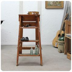 Stepladder F 191 Antique