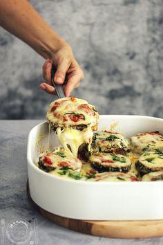 Clean Recipes, Raw Food Recipes, Vegetable Recipes, Appetizer Recipes, Chicken Recipes, Cooking Recipes, Healthy Recipes, Baked Eggplant, Eggplant Parmesan