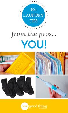 OGT readers share their BEST laundry tips & tricks to make laundry day easier and help you get your washing done right every time!