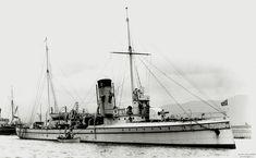 """Russian battleship """"Abrek"""""""