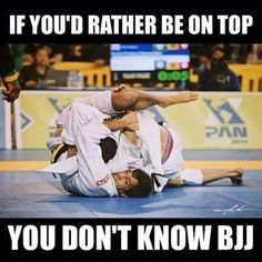 Ahahaha! This is toooo true! BJJ