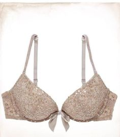 fd88c67e9d Aerie by AMERICAN EAGLE Emma Sequined Lace Pushup Bra.bought this little  sparkling gem with the matching undies