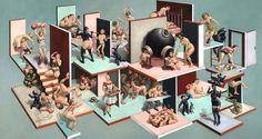 Erik Thor Sandberg rende ogni composizione come se fosse una conversazione tra l'artista e lo spettatore. Il dialogo così generato dal suo lavoro pone domande e cerca di definire l'identità umana (...