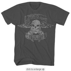 Lynyrd Skynyrd Men's Grey T-shirt $19.95
