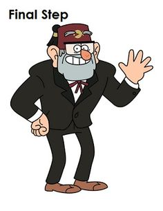 Learn how to draw Grunkle Stan from Disney Channel's Gravity Falls with this step-by-step tutorial and video. A new cartoon drawing tutorial is uploaded every week, so stay tooned! Cartoon As Anime, Cartoon Shows, Cartoon Characters, Gravity Falls Grunkle Stan, Gravity Falls Dipper, Cartoon Drawing Tutorial, Cartoon Drawings, Gravity Falls Characters, Gravity Falls Crossover