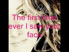 """""""First Time Ever I Saw Your Face"""" Celine Dion  Christian's Birthday"""