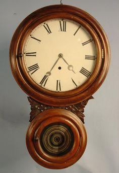 Welch Alexus Clock, 22in. T, 14in. W