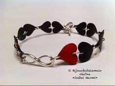 DIY Nespresso: Comment-faire un bracelet amour infini. - YouTube