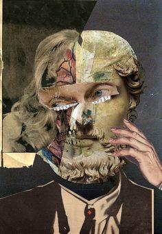 stremplerart:  Collage UNTITLED 2013 Waldemar Strempler Tumblr