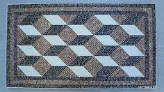 Recycled Geometry by Luis Laso Casas  www.mosaicoslapasera.com