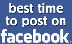 When is the best time to post on Facebook? You might be surprised