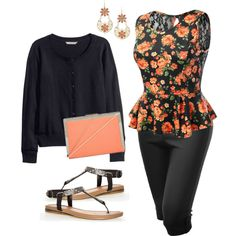 Plus size style: a complete look, less than $150.00., created by hamtowntracey on Polyvore