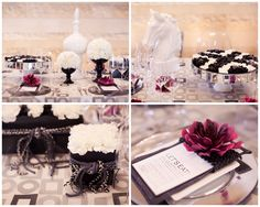 photos by Melissa Jill Photography; design by Outstanding Occasions; floral by Camelback Flowershop; stationery by idieh design; linen by Wildflower Linen