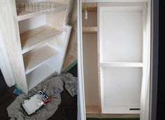 Installing our own Built-In Closet System (with pricing) - Pink Little NotebookPink Little Notebook Diy Master Closet, Bedroom Closet Storage, Build A Closet, Bedroom Closet Design, Diy Custom Closet, Custom Closet Design, Closet Renovation, Closet Remodel, Diy Closet System