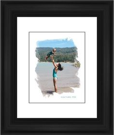Brushed Moments Framed Print, Black, Classic, Black, White, Single piece, 11 x 14 inches, White